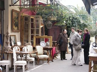 St. Ouen flea market, Paris