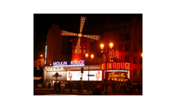 Moulin Rouge Show with half bottle of champagne (11 pm), Paris - all year