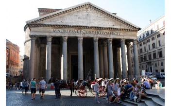 Roman Pantheon, Rome: All Year