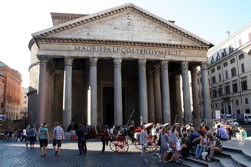 Roman Pantheon, Rome: All Year