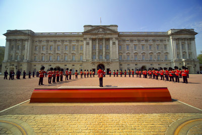 The State Rooms, Buckingham Palace, London