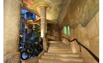 La Perdera (Casa Milà), Barcellona, Salta la coda