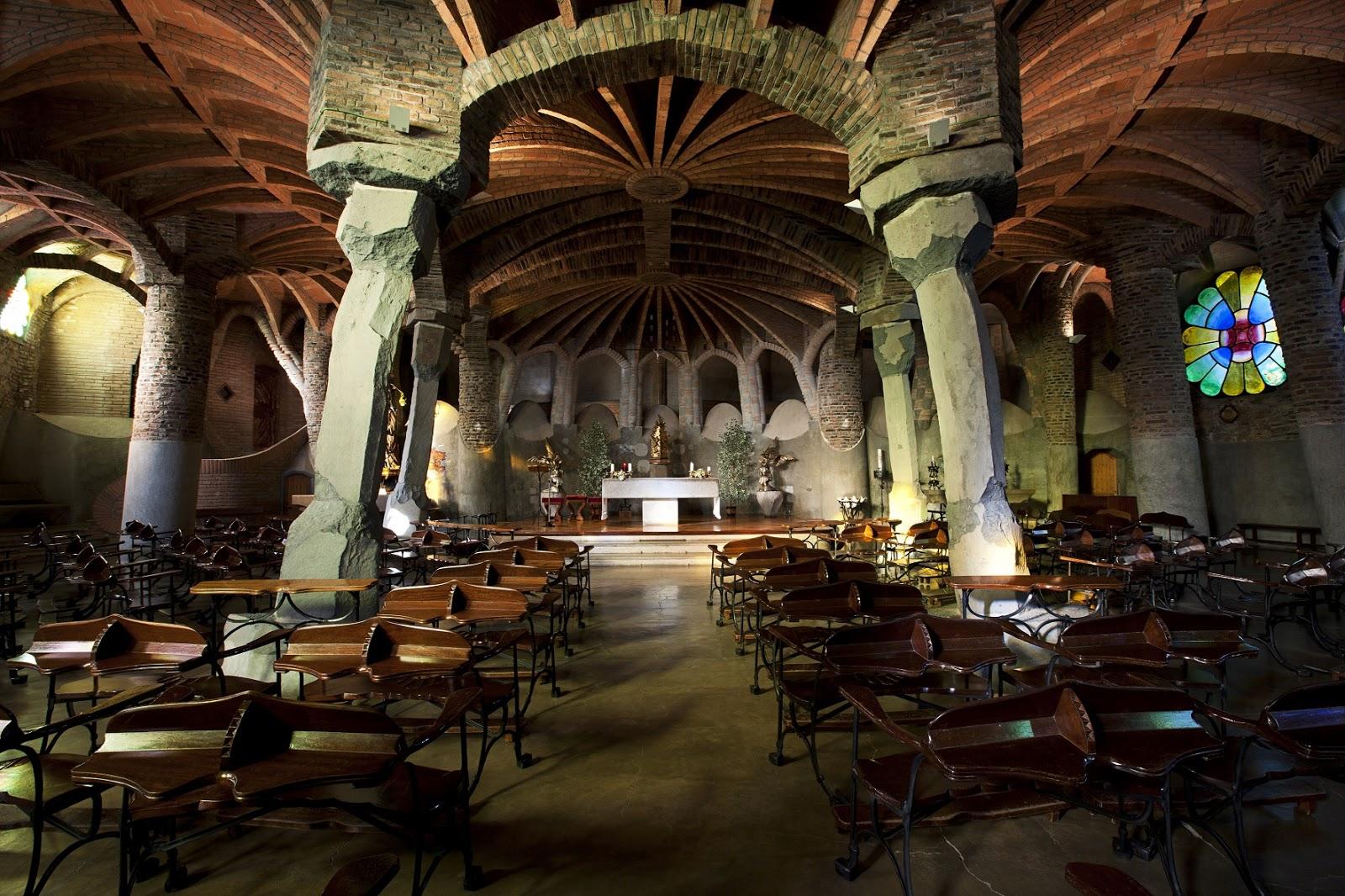 Güell Colony, Place of interest, Barcelona, Spain: All year