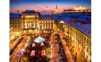 Christmas Market, Bratislava