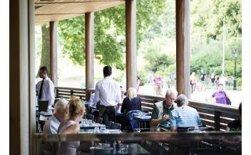 Restaurante Inn the Park, Parque de Saint James, Londres