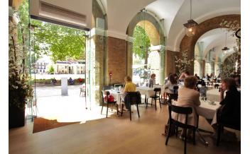 Gallery Mess Кафе в Галерее Саатчи, Лондон