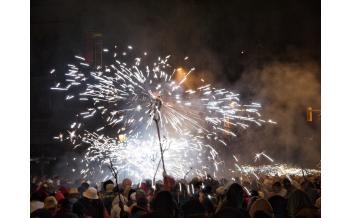 Фестиваль La Mercè, Барселона: Конец Сентября