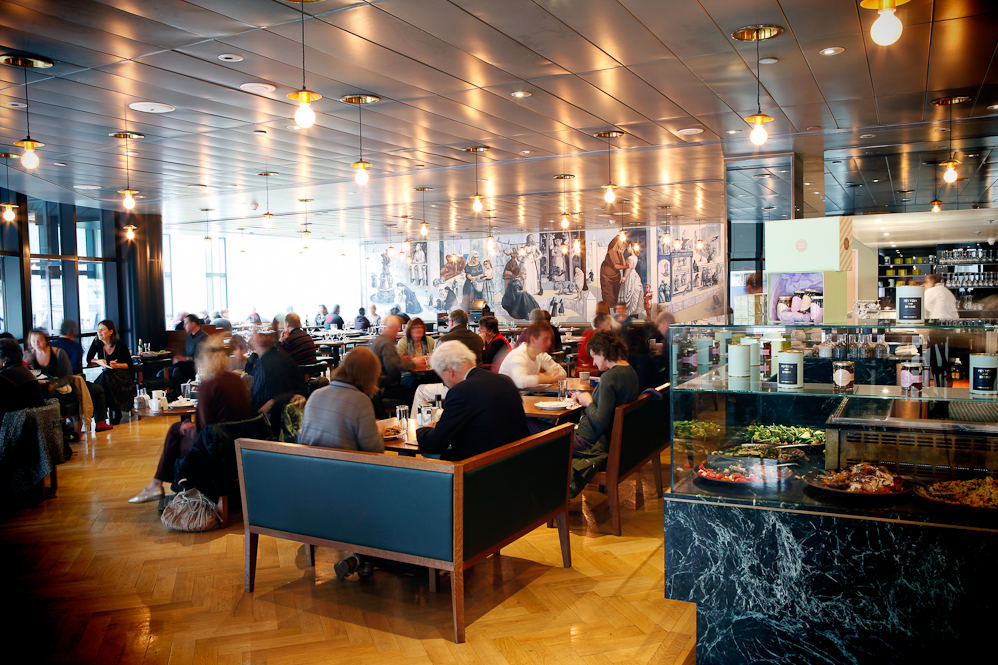 The National Café, National Gallery, London