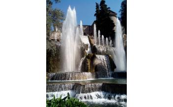 Villa d'Este y Jardines Renacentistas, Tívoli