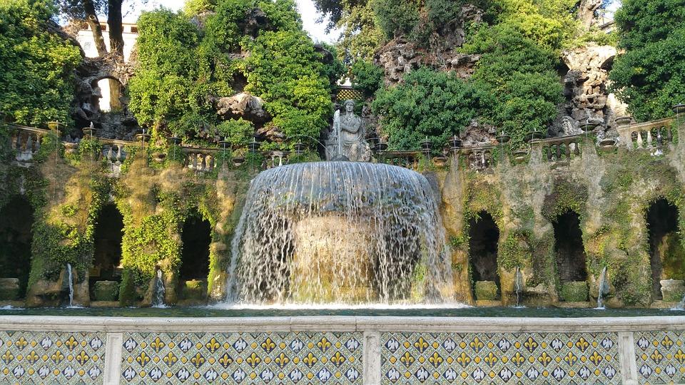 Villa D'Este & Renaissance Gardens, Tivoli, Italy