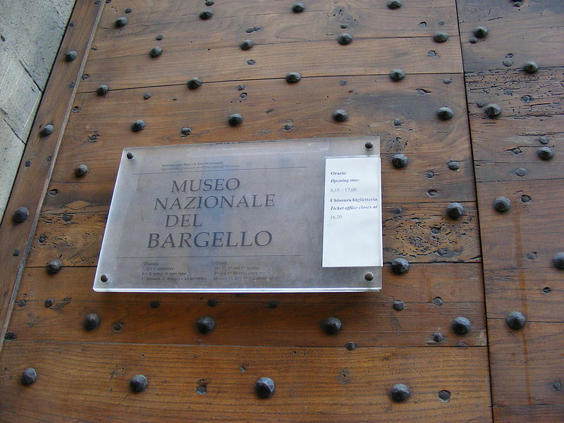 Museo Nazionale del Bargello (Bargello National Museum), Florence: All year