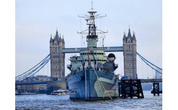 HMS Belfast, London: All year