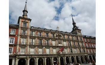 The Plaza Mayor Square, Madrid