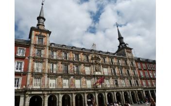 The Plaza Mayor Square, Madrid
