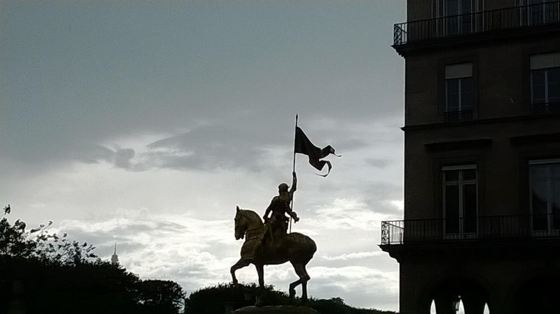 Estatua de juana de arco par s - Estatuas de jardin ...