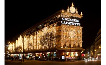 Gallerie Lafayette, Parigi: tutto l'anno