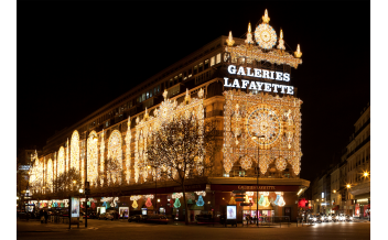 Galeries Lafayette, Paris: All year