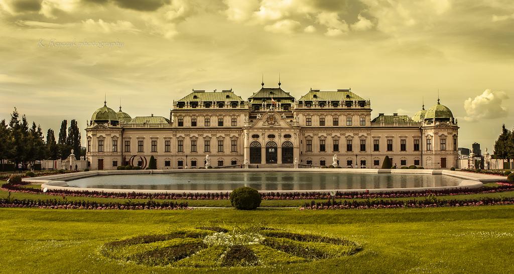 Belvedere Gardens, Vienna: All year