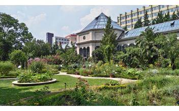 Сад растений (Jardin des Plantes), Париж: Круглый год