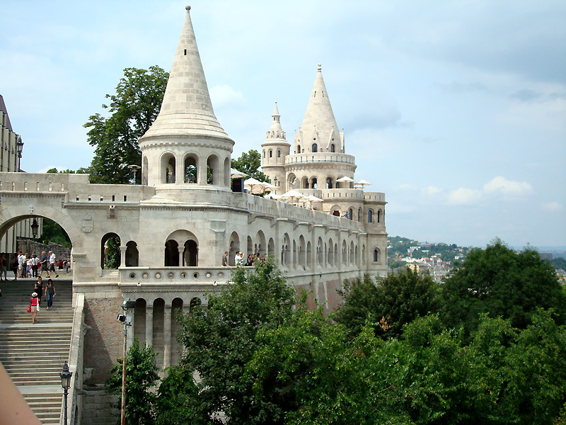 Fisherman's Bastion, Budapest: All year