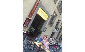 Trattoria le Antiche Carrozze, Florence