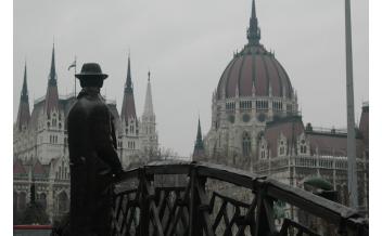 Imre Nagy Statue, Budapest