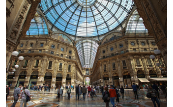 Galleria Vittorio Emanuele II, Milan: All year