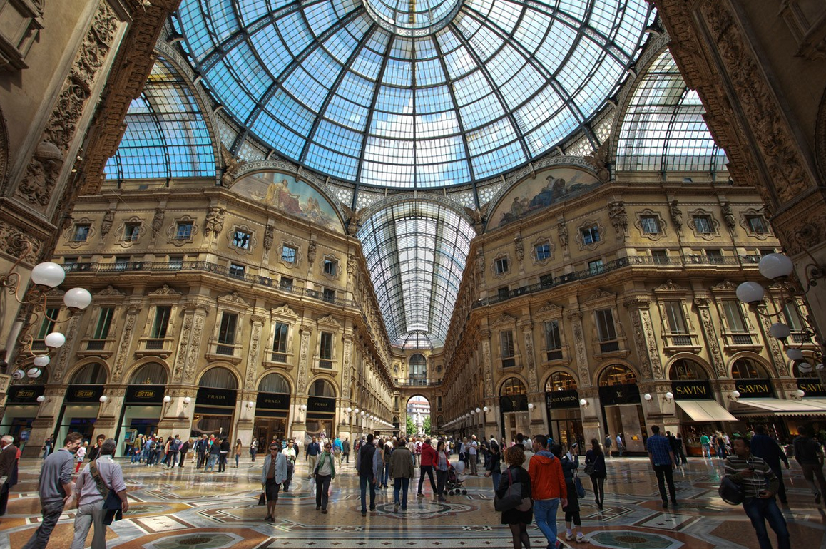 Galleria Vittorio Emanuele II, Milan: All year