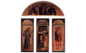 Triptych of the Nativity by Jacopo Bellini