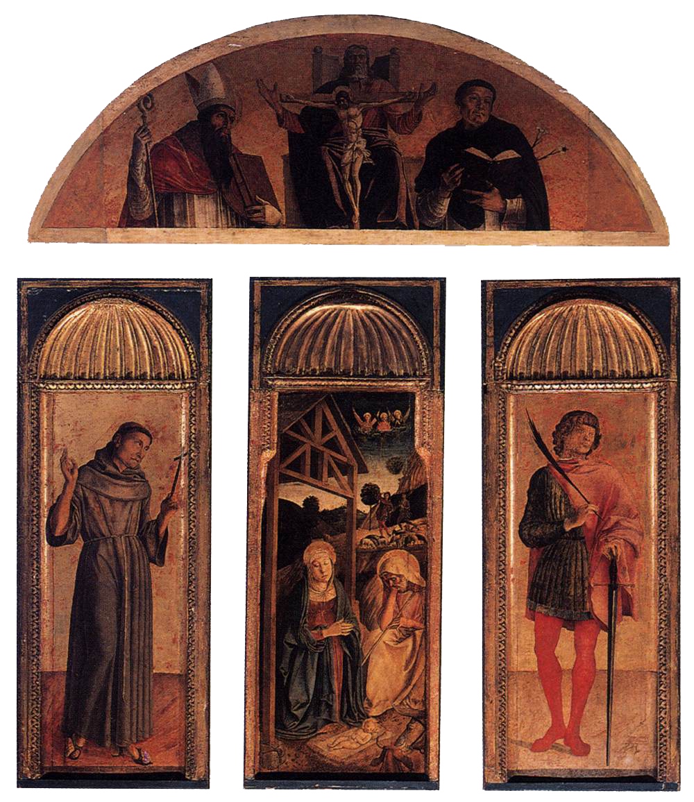 Triptych of the Nativity by Jacopo Bellini / Public Domain