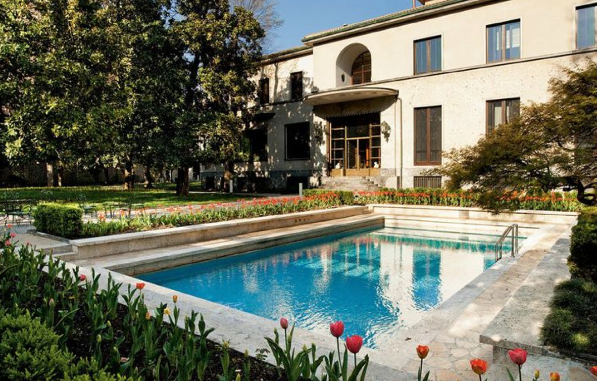 Villa necchi campiglio milan for Villa mozart milano