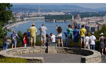 Gellert Hill and Statue, Budapest