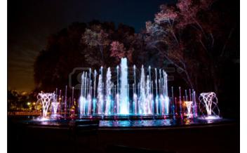 Musical Fountain, Budapest