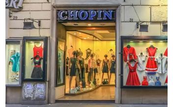 Chopin in Via Ottaviano, Shop, Rome