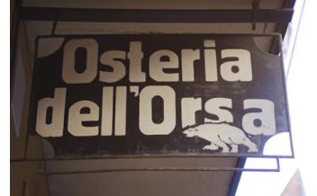 Osteria dell'Orsa, Ресторан, Болонья