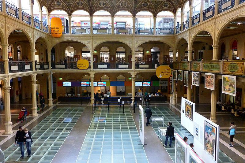 Biblioteca Salaborsa, Bologna: All Year