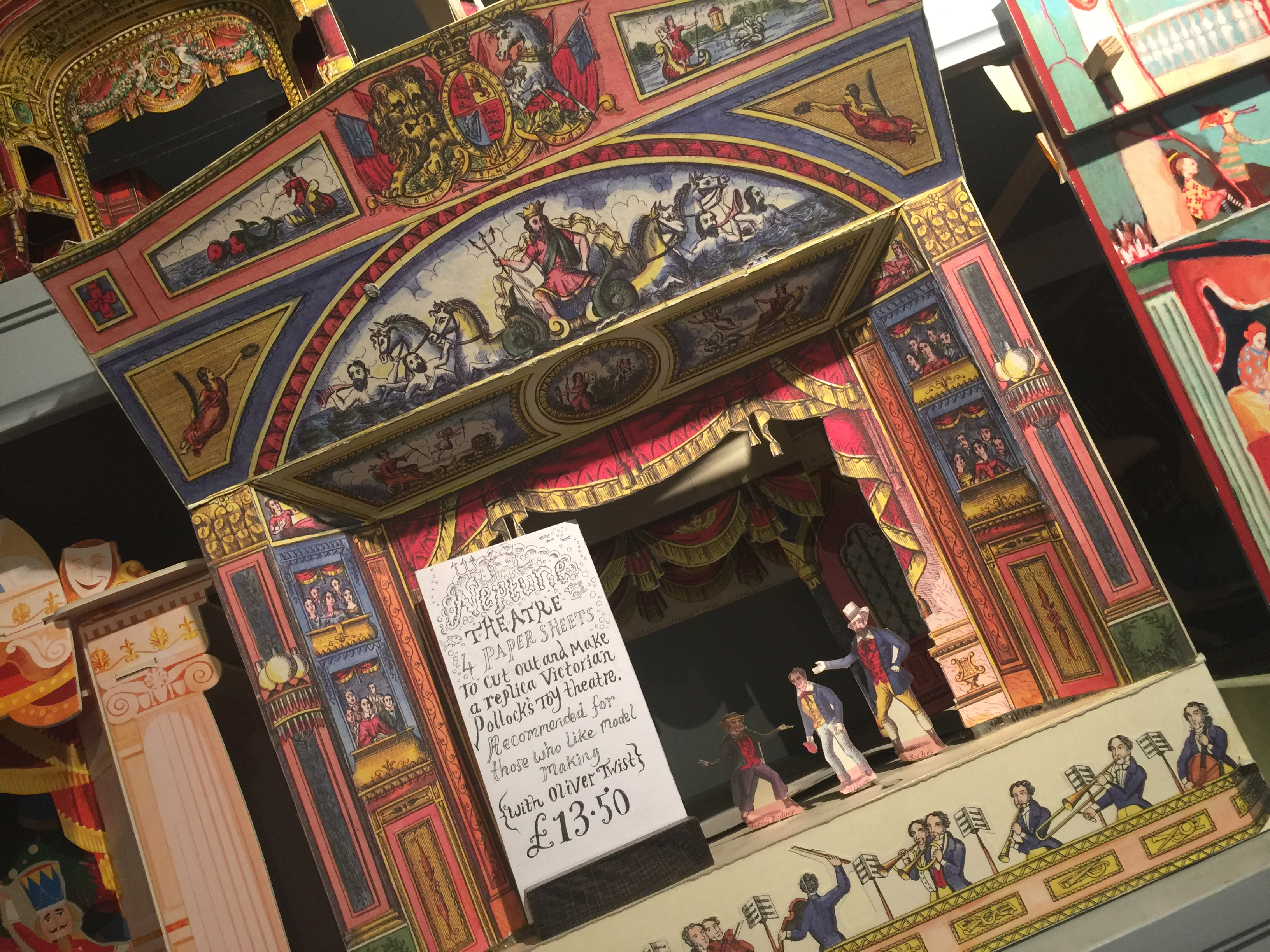 Benjamin Pollock\'s Toyshop, Covent Garden, London