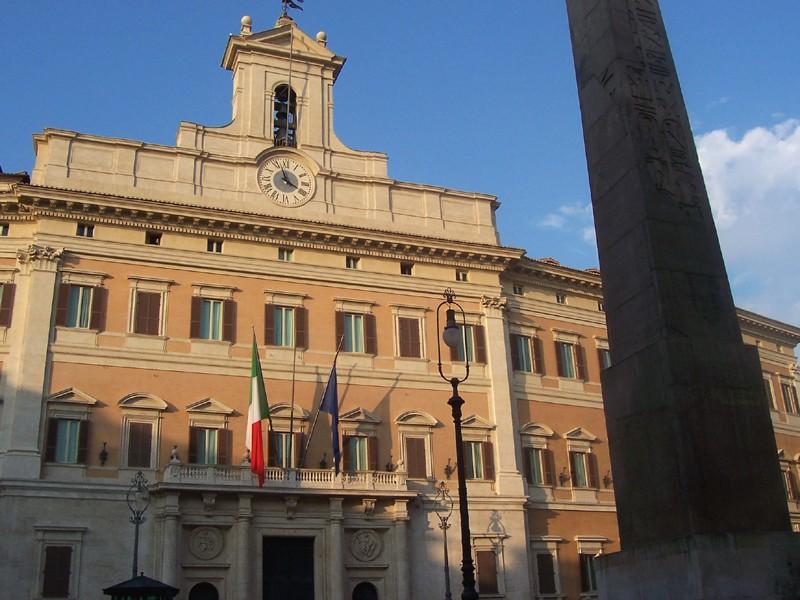 palazzo di montecitorio rome