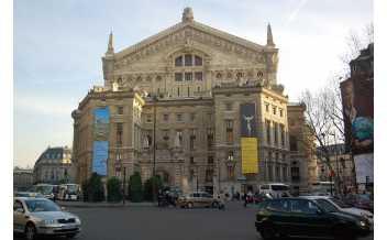 Only the sound remains, Palais Garnier, Paris: 23 January-7 February 2018