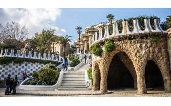 Парк Гуэль, Барселона, Испания: Круглый год