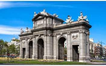 Ворота Алькала, Мадрид, Испания