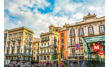 Ла Рамбла, Барселона, Испания: Круглый год