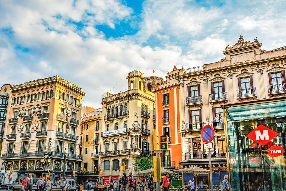 La rambla barcellona spagna for Spagna barcellona