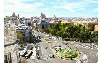 La Gran Vía, Madrid: All year