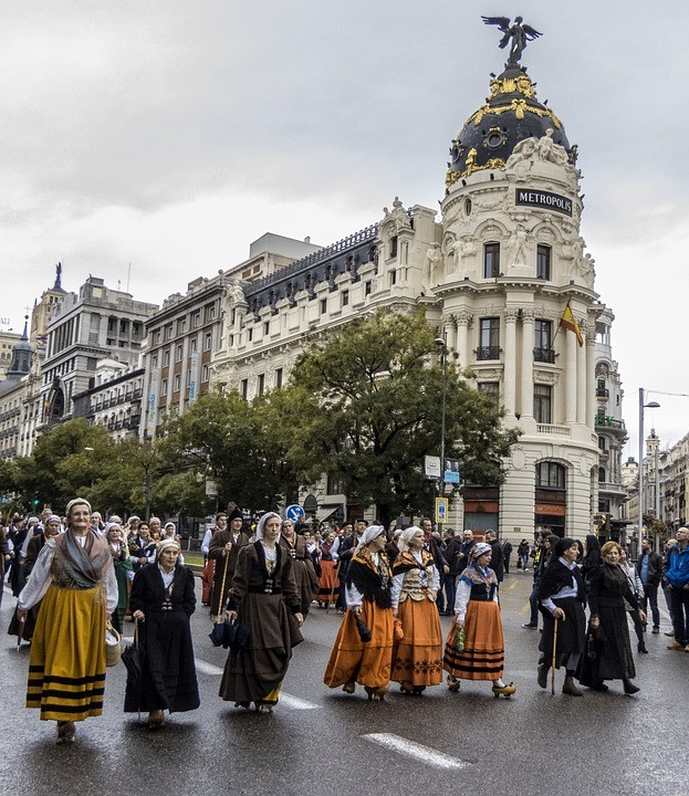La Gran Vía, Madrid