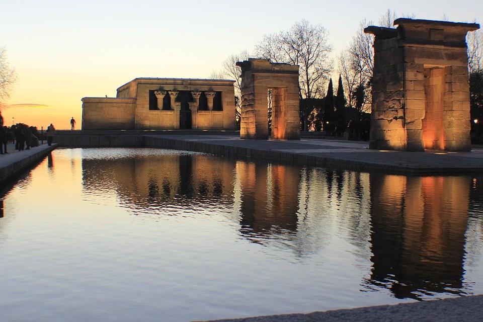 The Debod Temple, Madrid