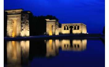 The Debod Temple, Madrid