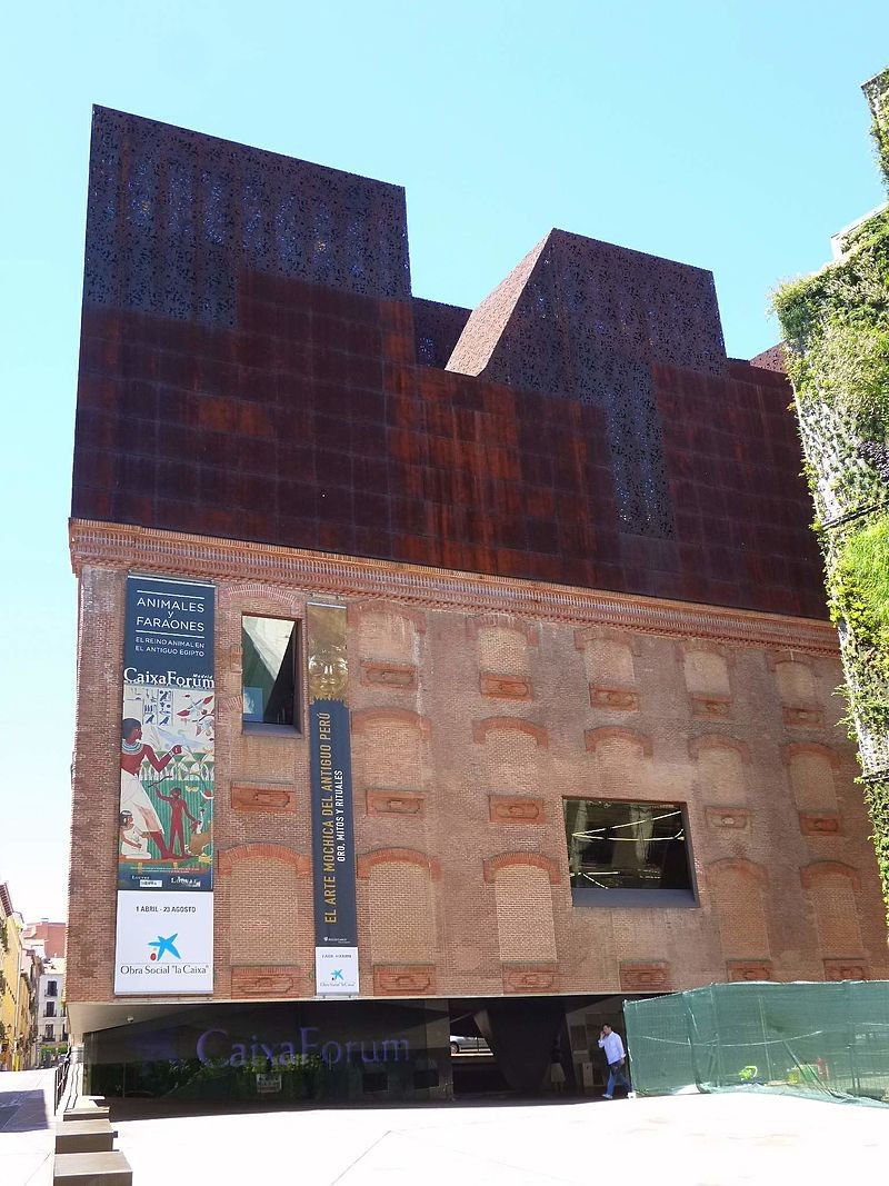 CaixaForum, Museum, Madrid: All year