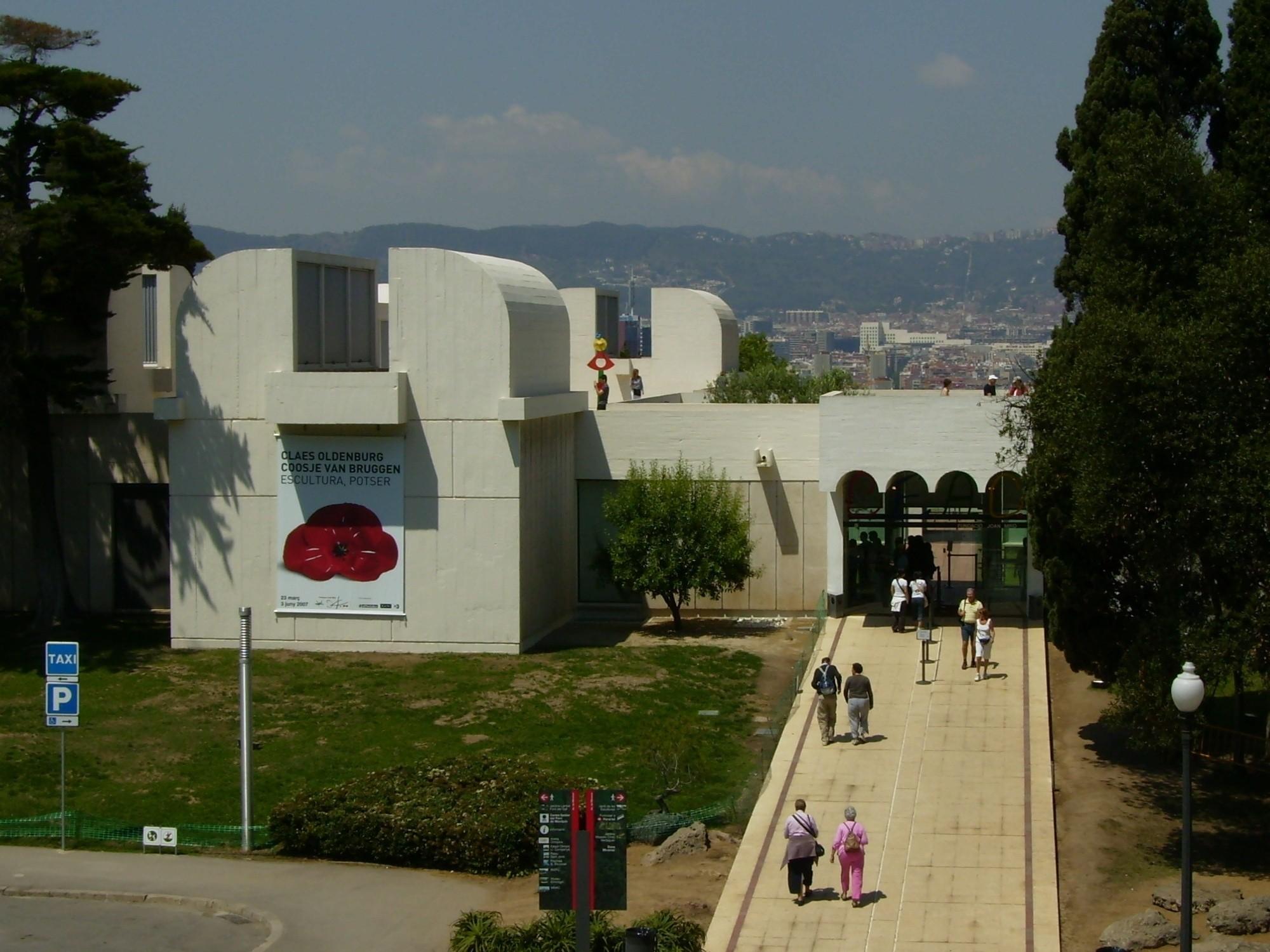 Joan Miró Foundation, Barcelona, all year