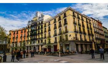 La Plaza de Oriente, Madrid